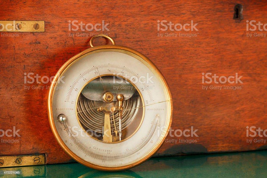 Thermometer und Barometer – Foto