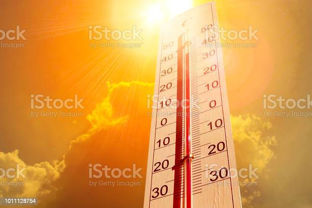 Photo of Thermometer in the sky, the heat