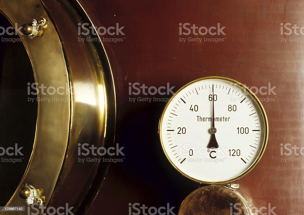Termometro foto stock royalty-free