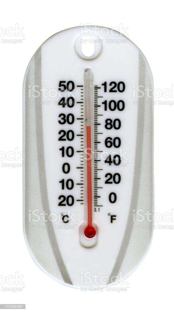 XXL Thermometer royalty-free stock photo