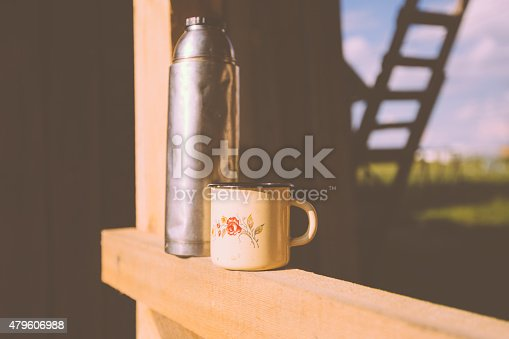 istock Thermos and a mug 479606988