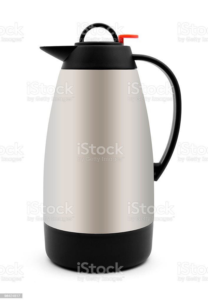 Thermos bottle royalty-free stock photo
