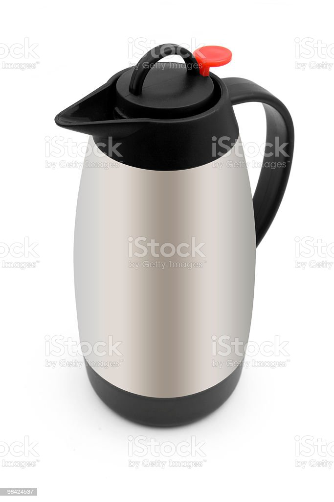 Thermos bottle royalty-free stock photo