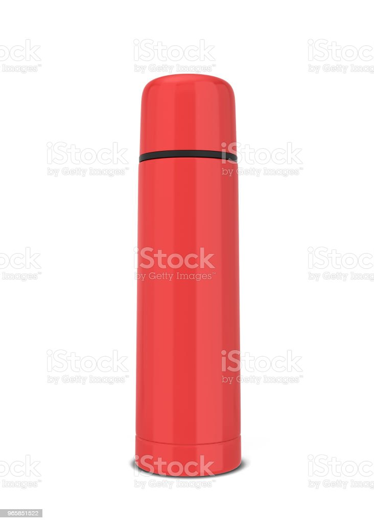 Thermos for hot drinks - Royalty-free Aluminum Stock Photo