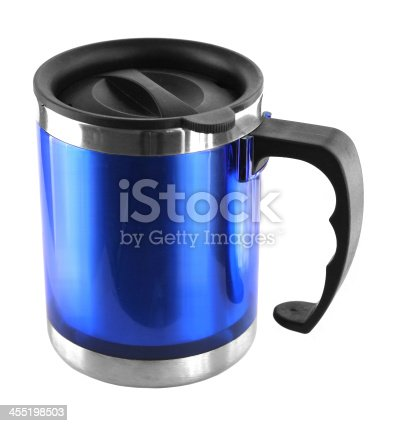 istock Thermos isolated on white 455198503