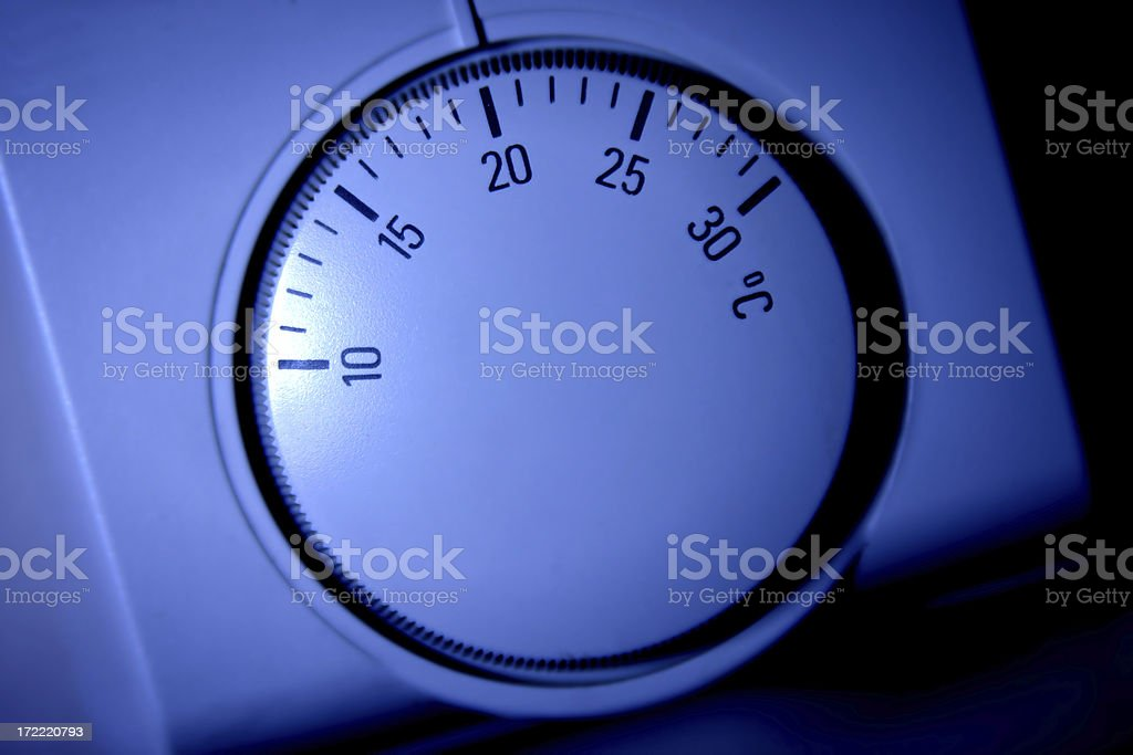 Thermostat 2 royalty-free stock photo
