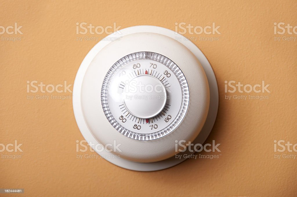 thermostat - higher res stock photo