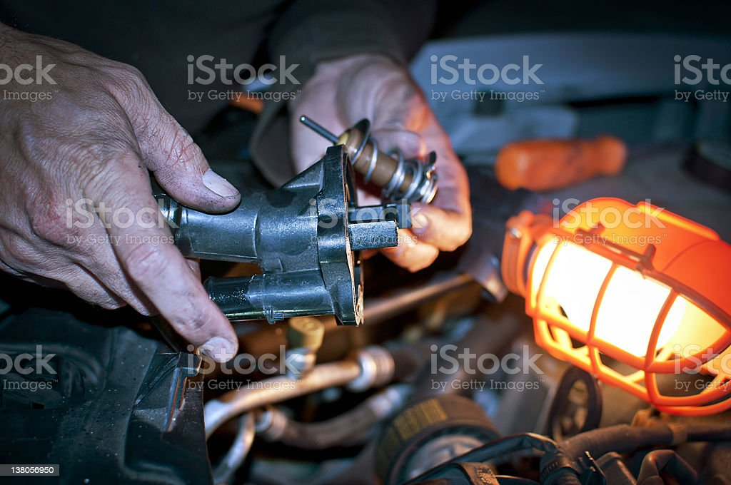 Car Thermostat Replacement >> Thermostat Replacement For Car Stock Photo Download Image