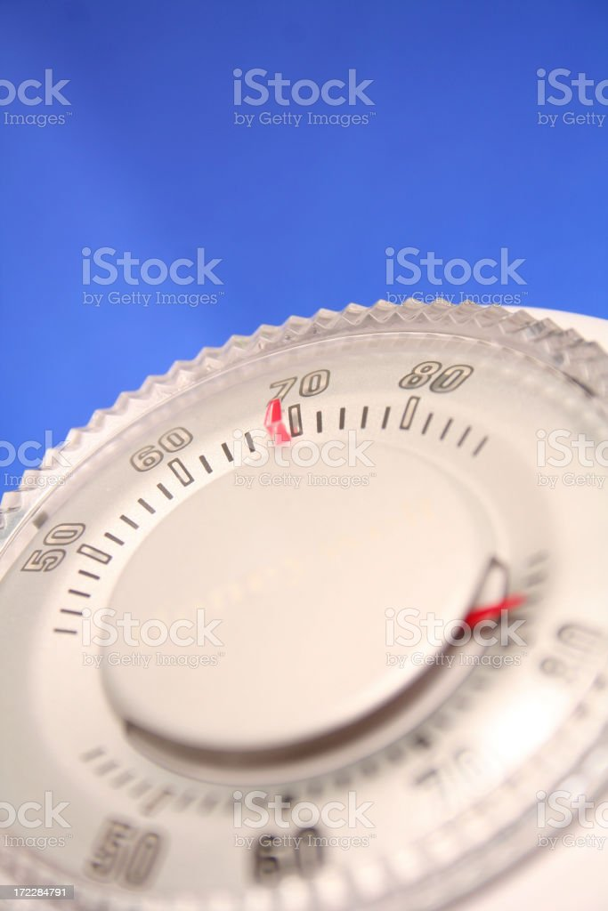 Thermostat Series royalty-free stock photo