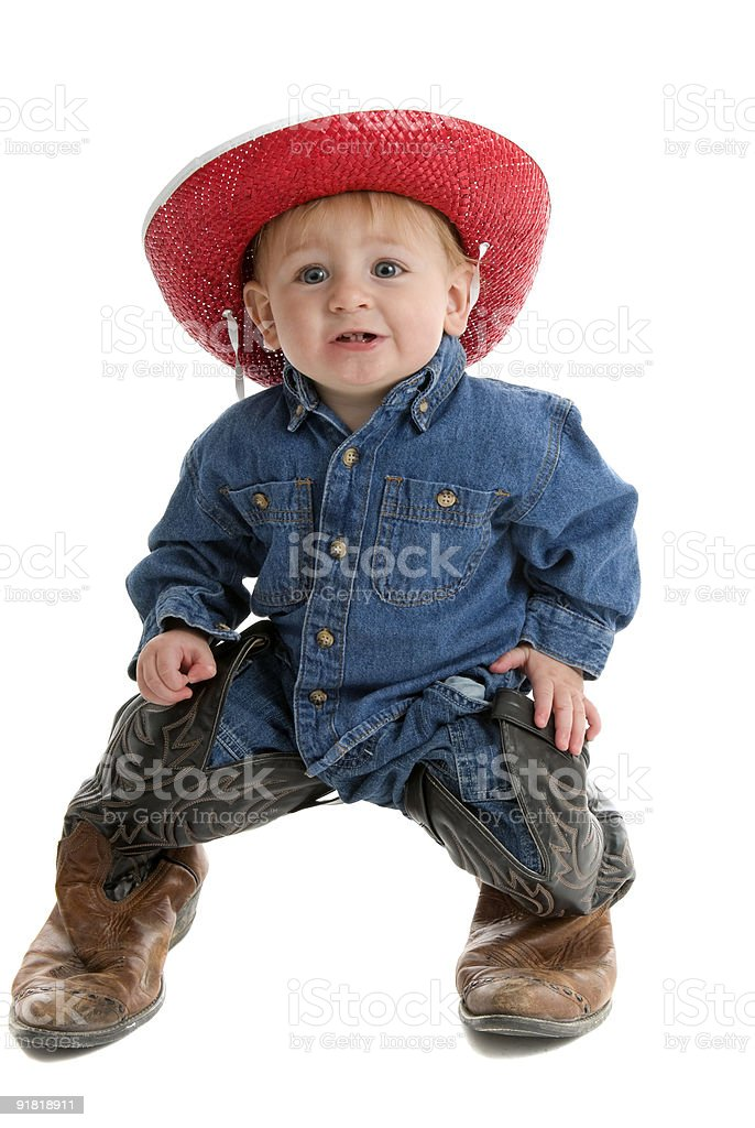 These boots are made for walking stock photo