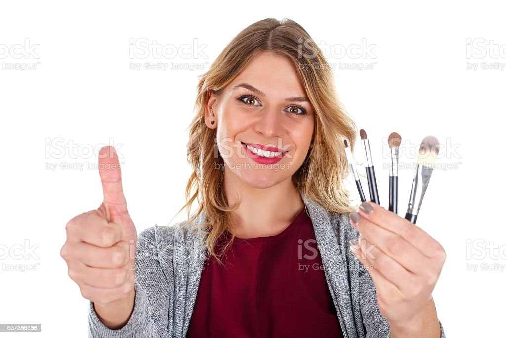 These brushes are more than effective stock photo