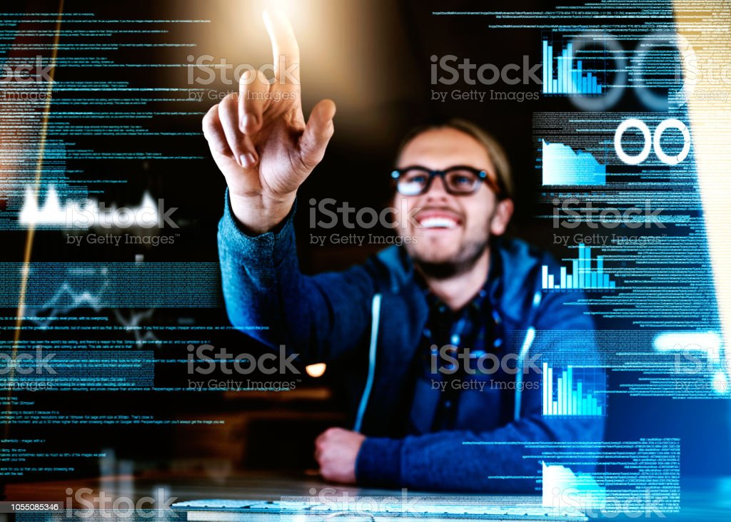 These codes will be cracked in no time stock photo