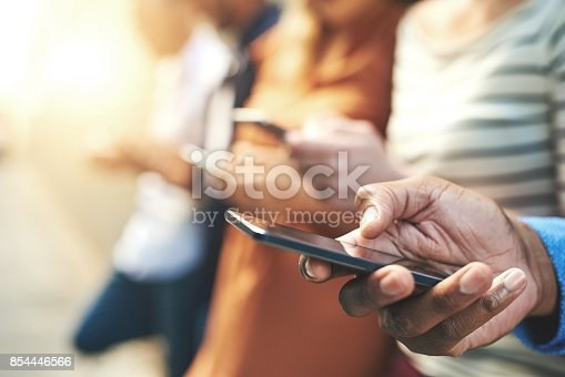 istock These days fingers do the talking 854446566