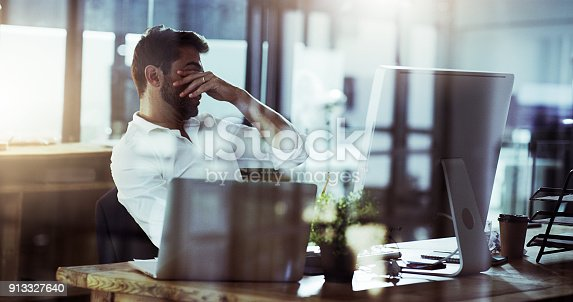 istock These late nights are killing me 913327640