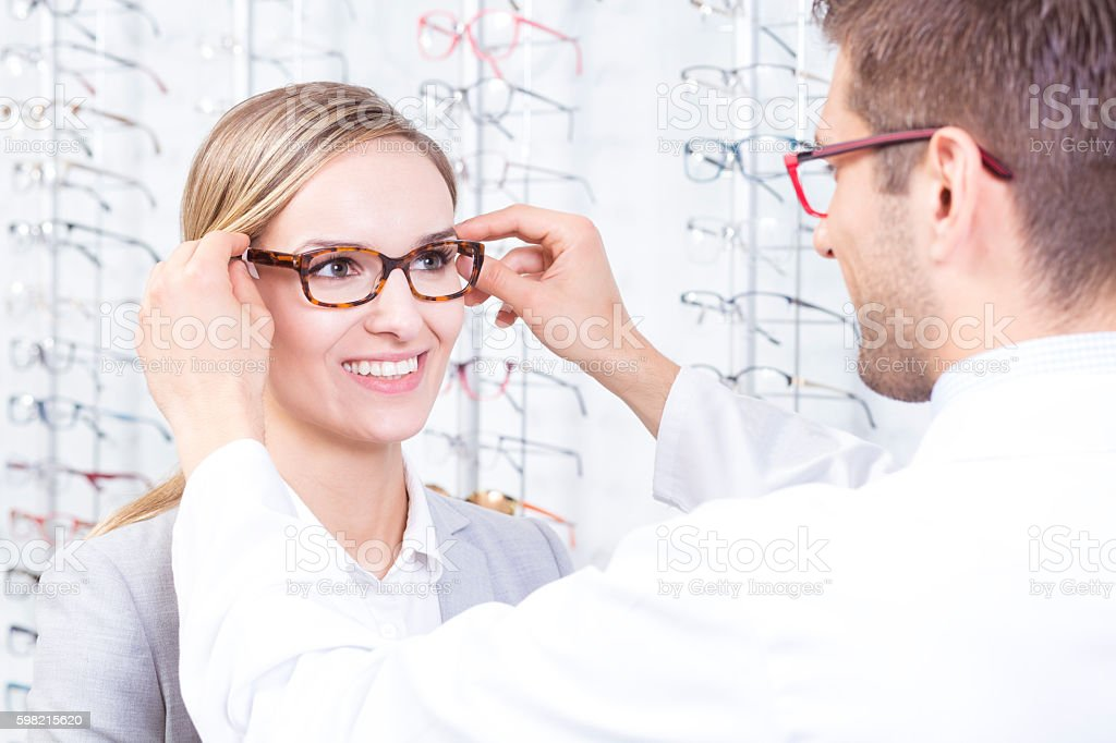 These suits you well stock photo