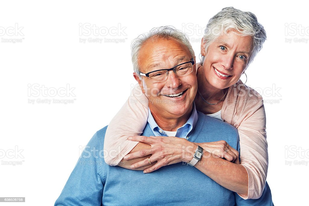 These truly are the golden years stock photo