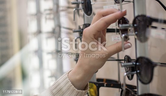 These will perfectly. Woman taking glasses.