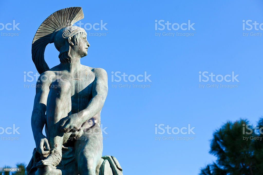 Theseus stock photo