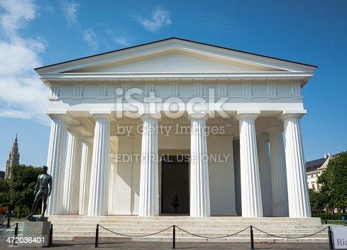 istock Theseus Temple at Volksgarten in Vienna, Austria 472036401
