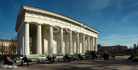 istock Theseus Temple in Vienna 1294398128