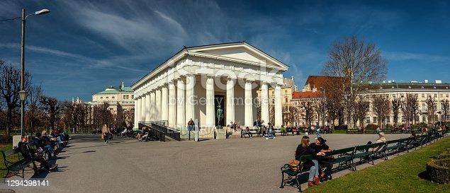 istock Theseus Temple in Vienna 1294398141