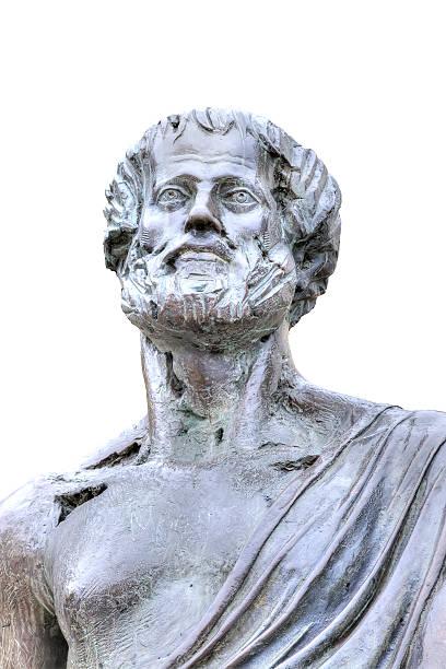 Thessaloniki. Aristotle Sculpture stock photo