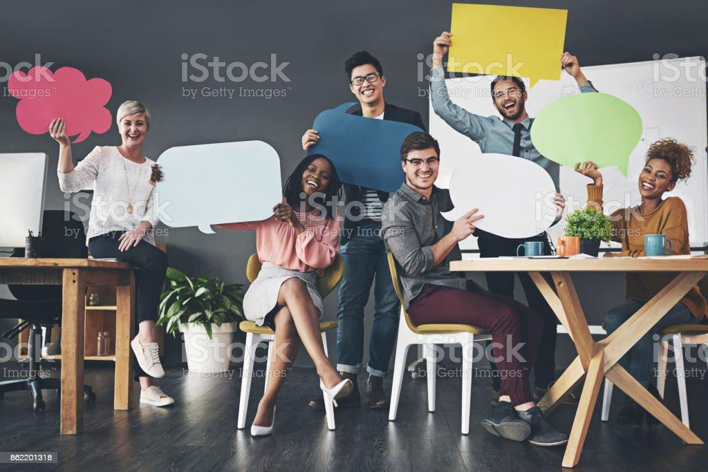 Todos eles colocando suas opiniões por aí - foto de acervo