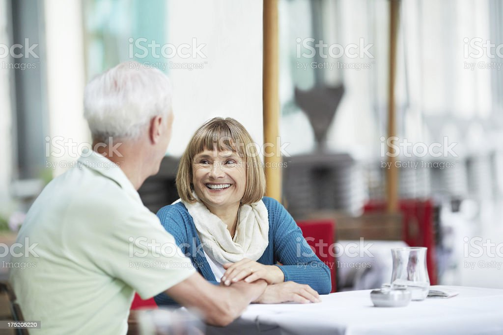 They always make time for one another royalty-free stock photo