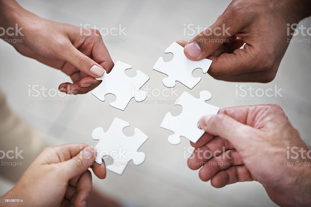 They are all an integral part of the company royalty-free stock photo