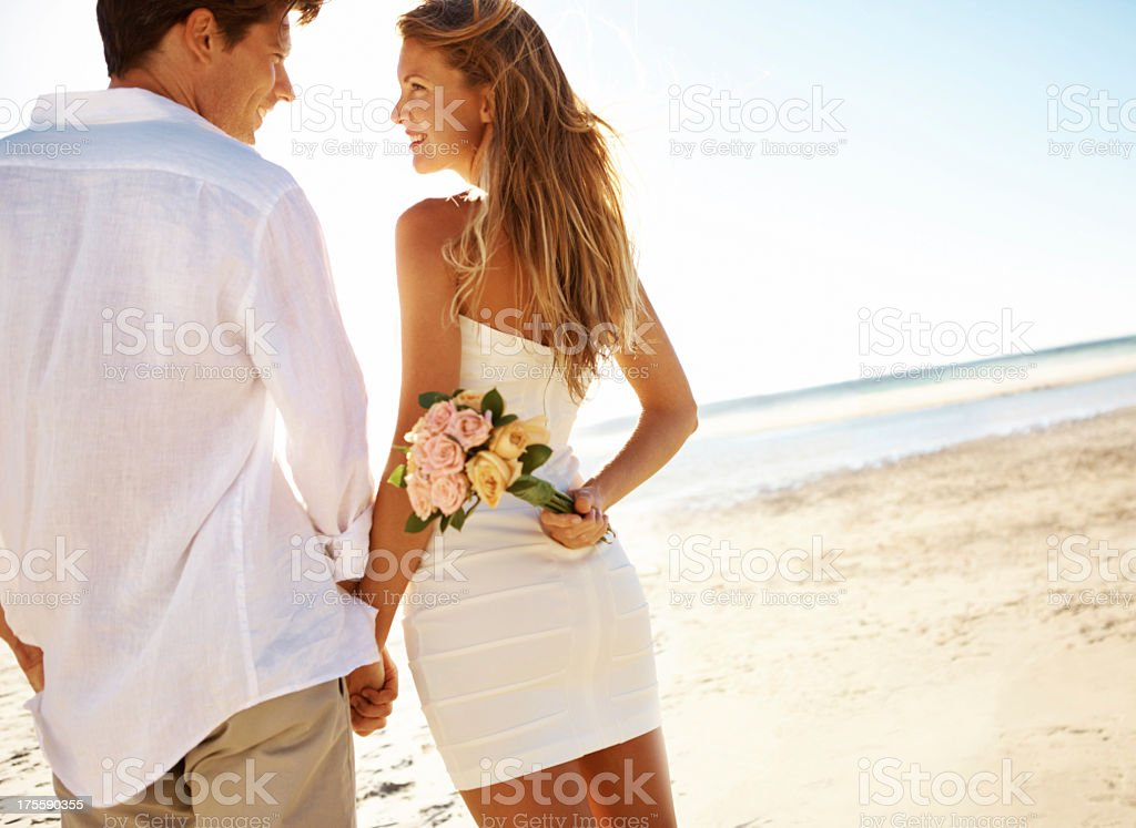 They are so deeply inlove stock photo