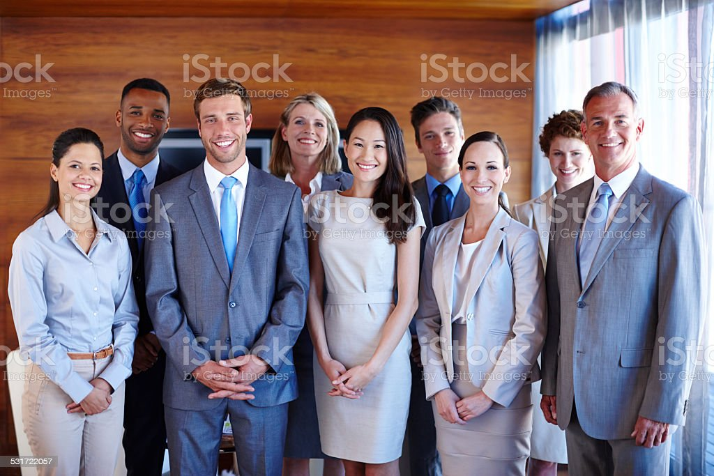 They are the best in their field stock photo