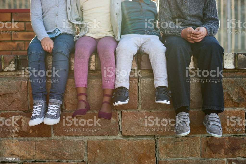 They belong to the school of cool stock photo