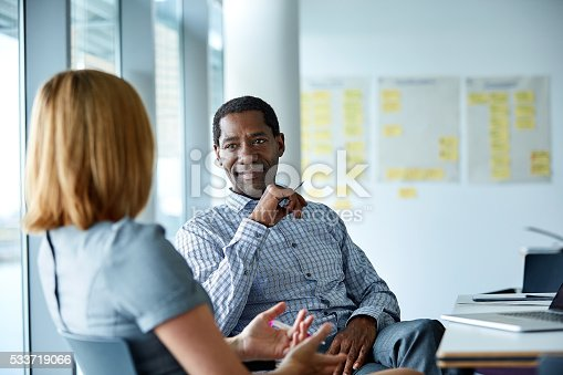 istock They enjoy a great working relationship 533719066