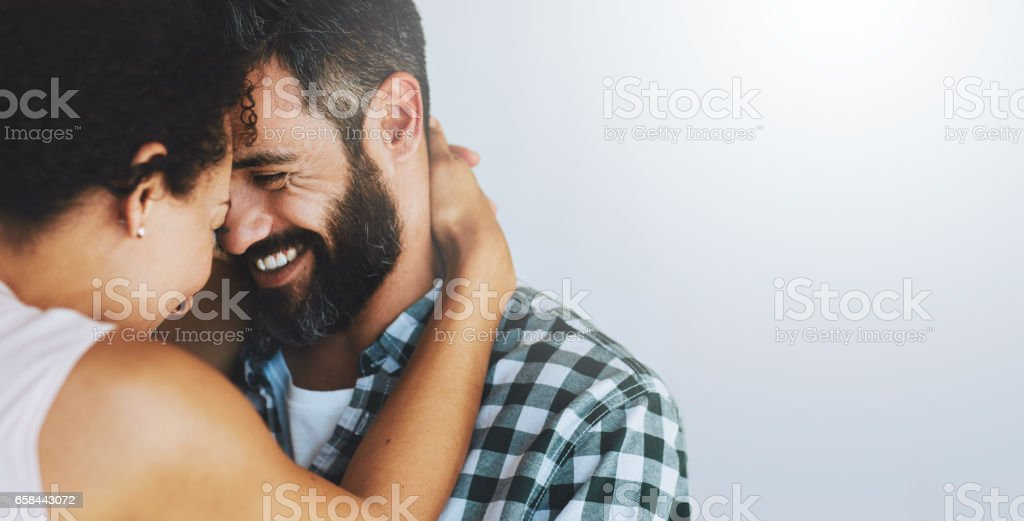 They fall in love a little more every day stock photo