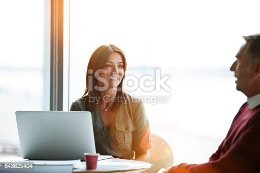 istock They have a great working relationship 643625404