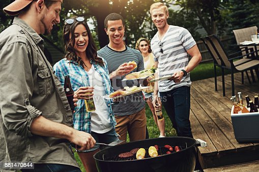 istock They host the best barbecues 881470844