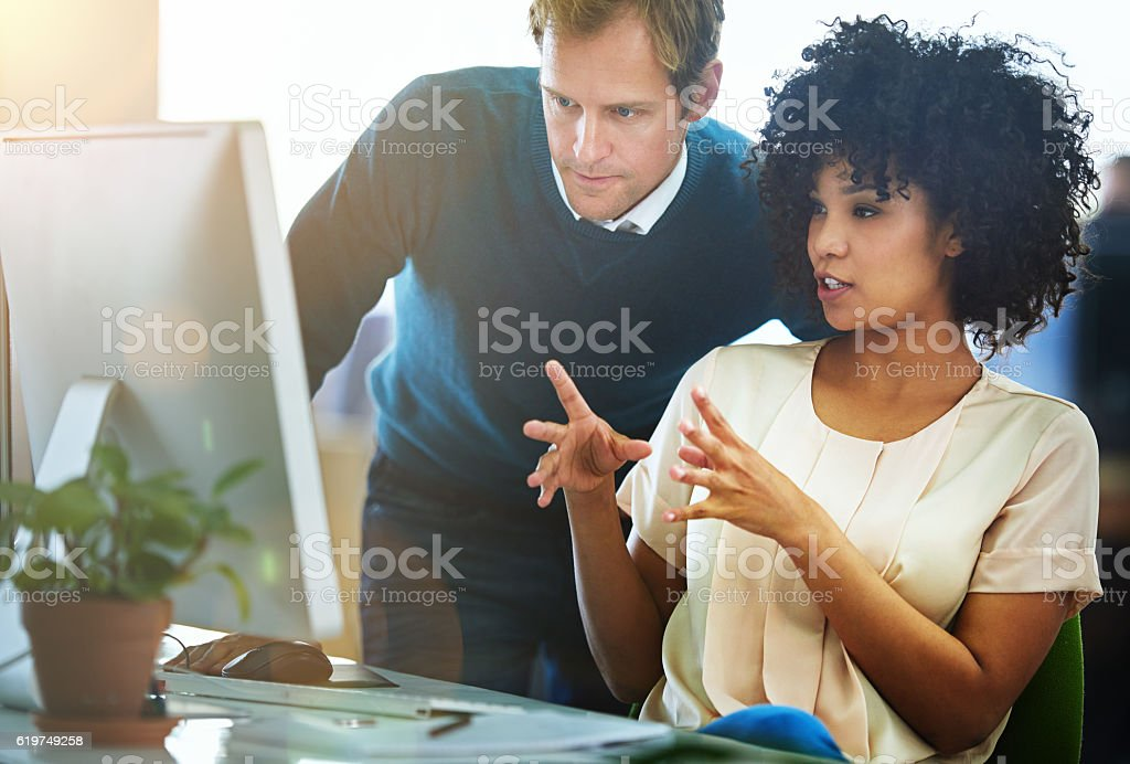 They know design stock photo