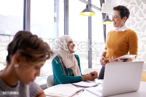 istock They like to keep their meetings light hearted 541135864