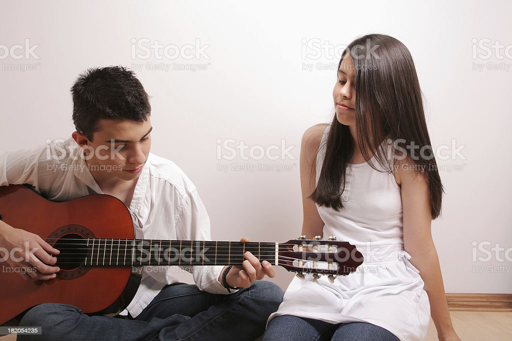 They Love Music royalty-free stock photo