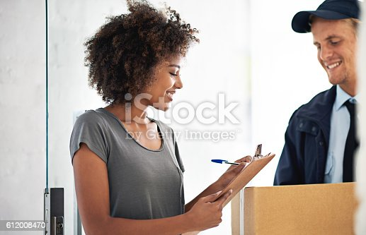 1053001624 istock photo They really do offer same day delivery! 612008470