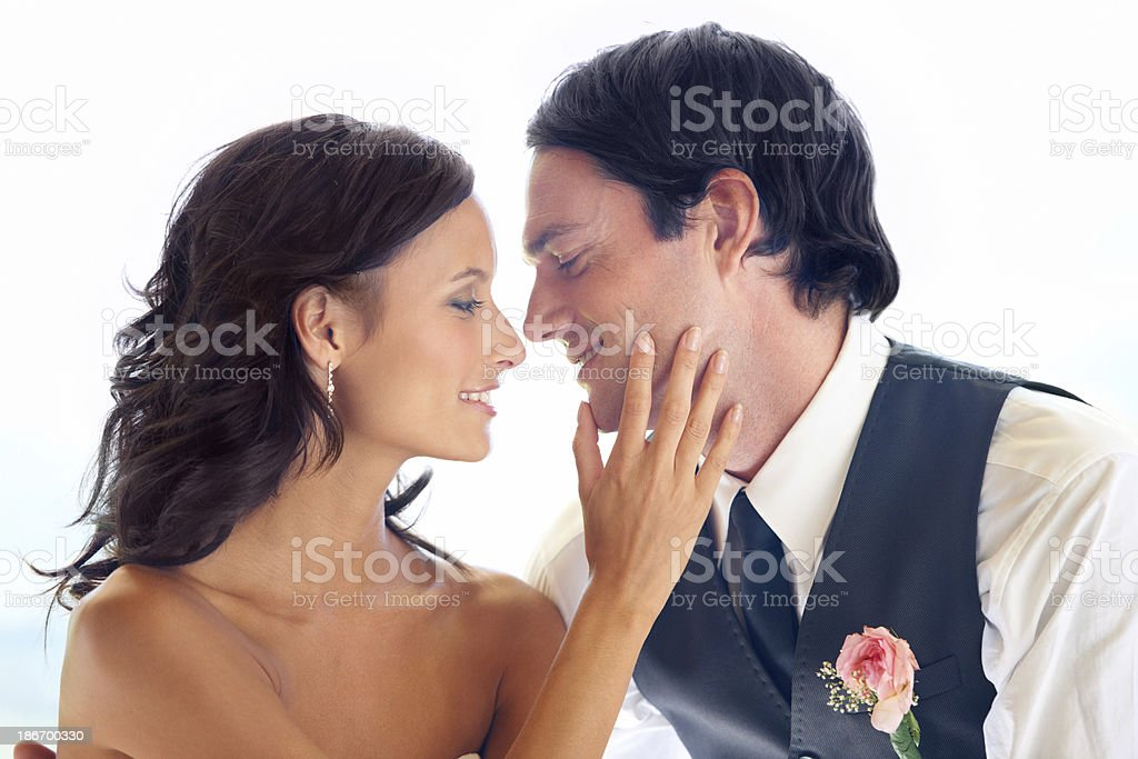 They share a bright future royalty-free stock photo
