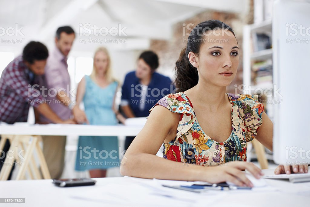 They share a passion for design royalty-free stock photo