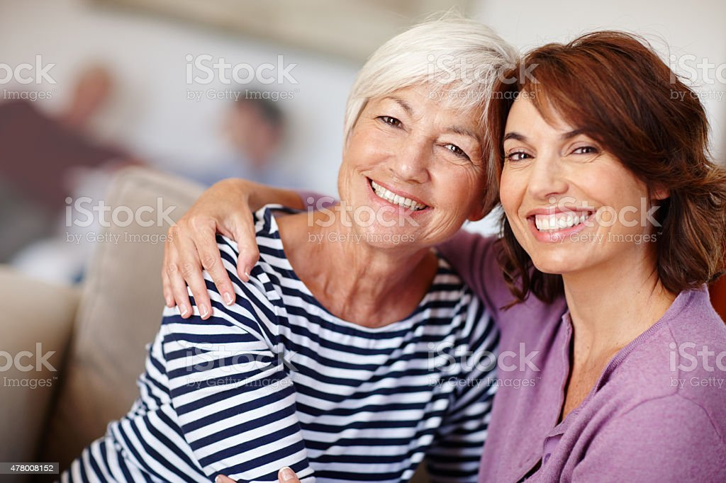 They treasure each other stock photo