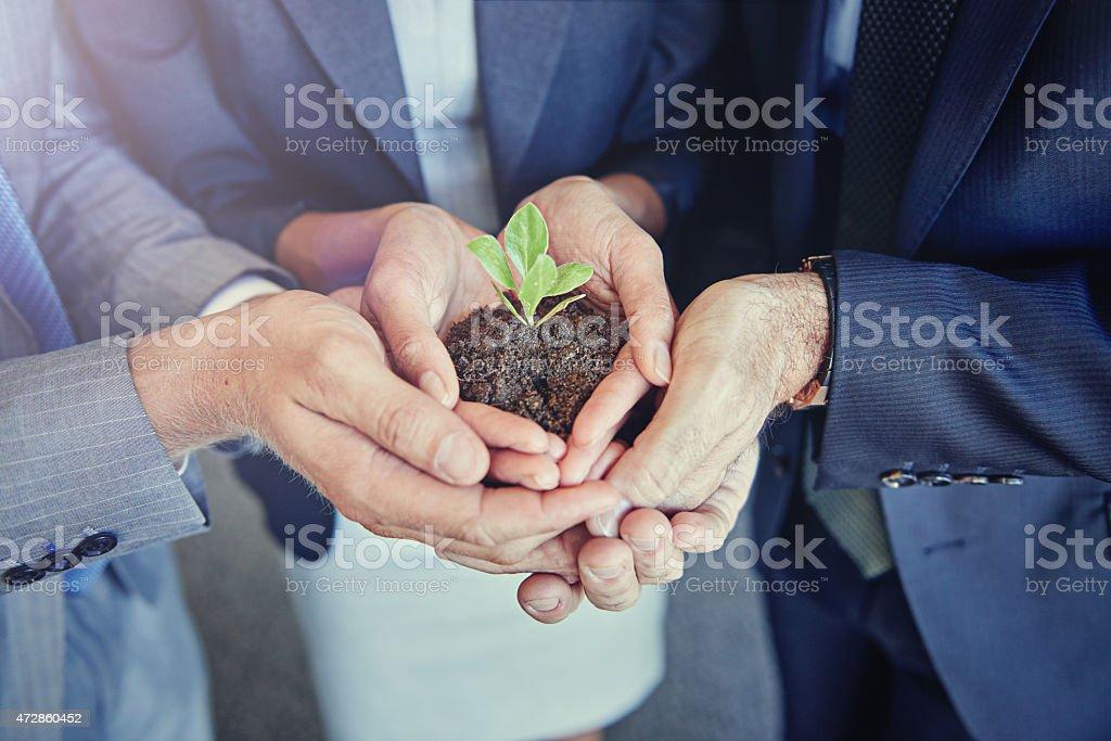 Sie schätzen Ihr business Lizenzfreies stock-foto