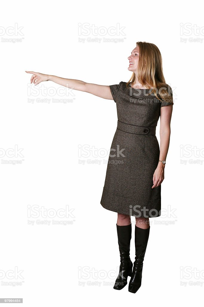 They went that way royalty-free stock photo