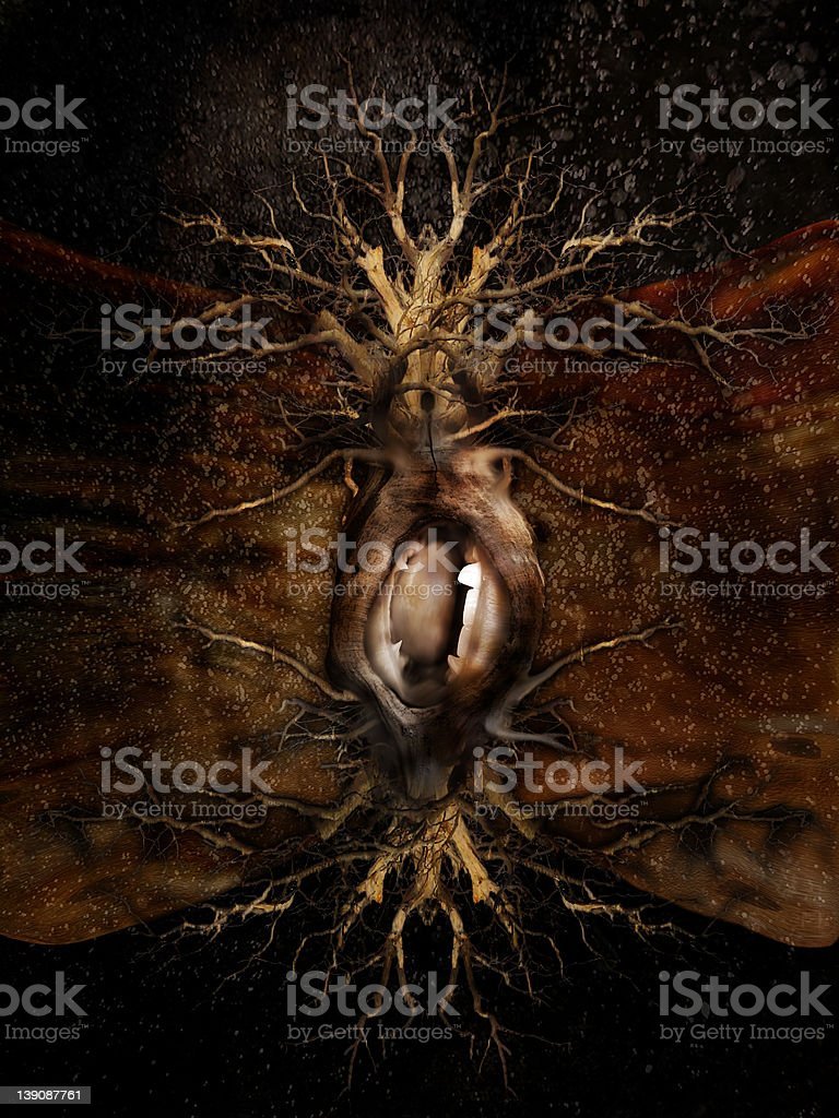 They... Will eat you Alive!! royalty-free stock photo