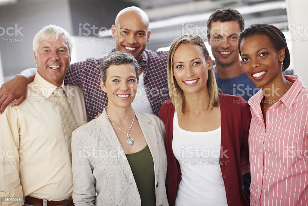 They work best when they're together royalty-free stock photo
