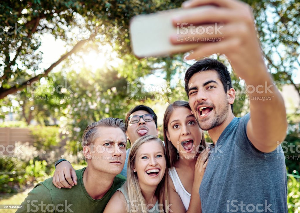 They'll never forget this moment stock photo