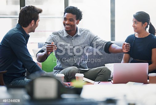 491244494 istock photo They're a positive group of creative professionals 491244528