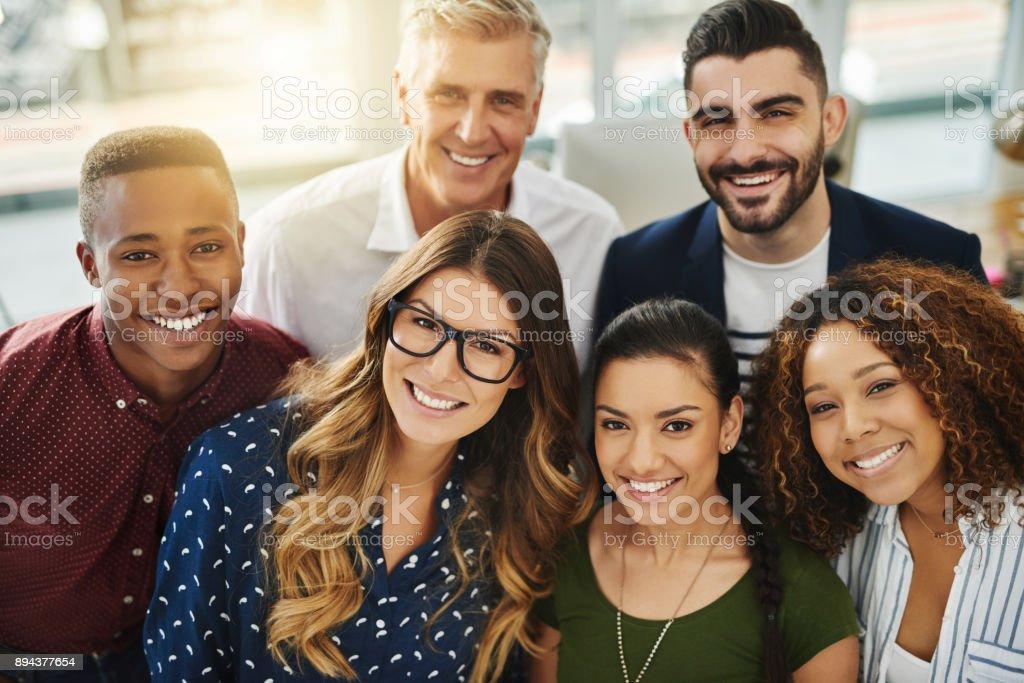 Sie sind ein Team von Go-getter - Lizenzfrei Afro-amerikanischer Herkunft Stock-Foto